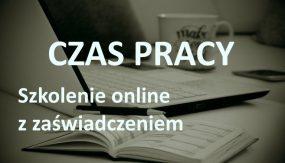 rozliczanie czasu pracy kurs online